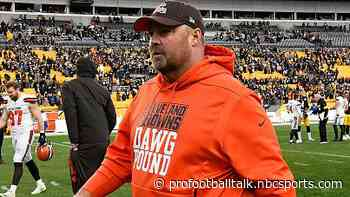 """Freddie Kitchens: """"Pittsburgh started it"""" t-shirt didn't lead to loss"""