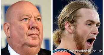 Liverpool Mayor Joe Anderson in online spat with Everton fan over Tom Davies