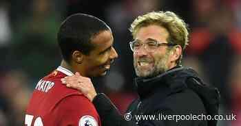 Liverpool facing Joel Matip wait as Jurgen Klopp speaks on options for Everton