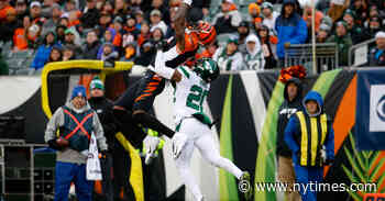 Bengals Are No Longer Winless, Thanks to the Jets