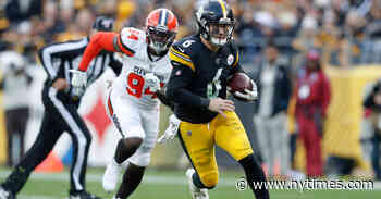 Steelers Cling to Playoff Hopes, the Browns to the Idea of a Rivalry
