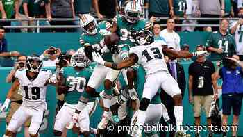 Al Riveron decided not to review Hail Mary at end of Eagles-Dolphins