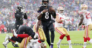 Ravens Outlast 49ers With a Strong Finishing Kick