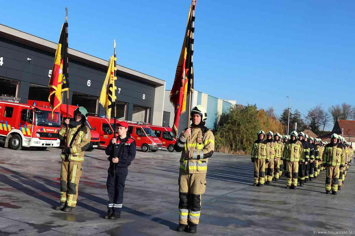 Brandweerkorpsen Deerlijk en Anzegem zijn nu één