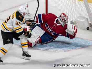 Liveblog replay: Habs lose to Bruins, winless in eight straight