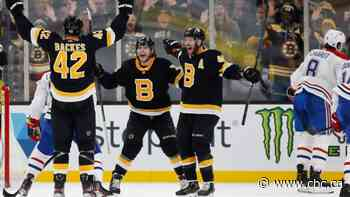 Bruins hand Canadiens 8th straight loss with strong 3rd period