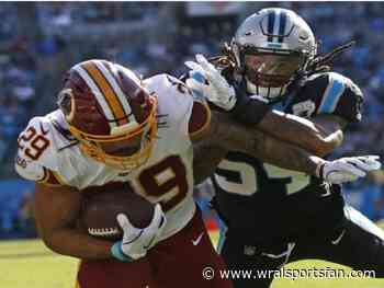 Guice, Redskins hold on to beat Panthers 29-21
