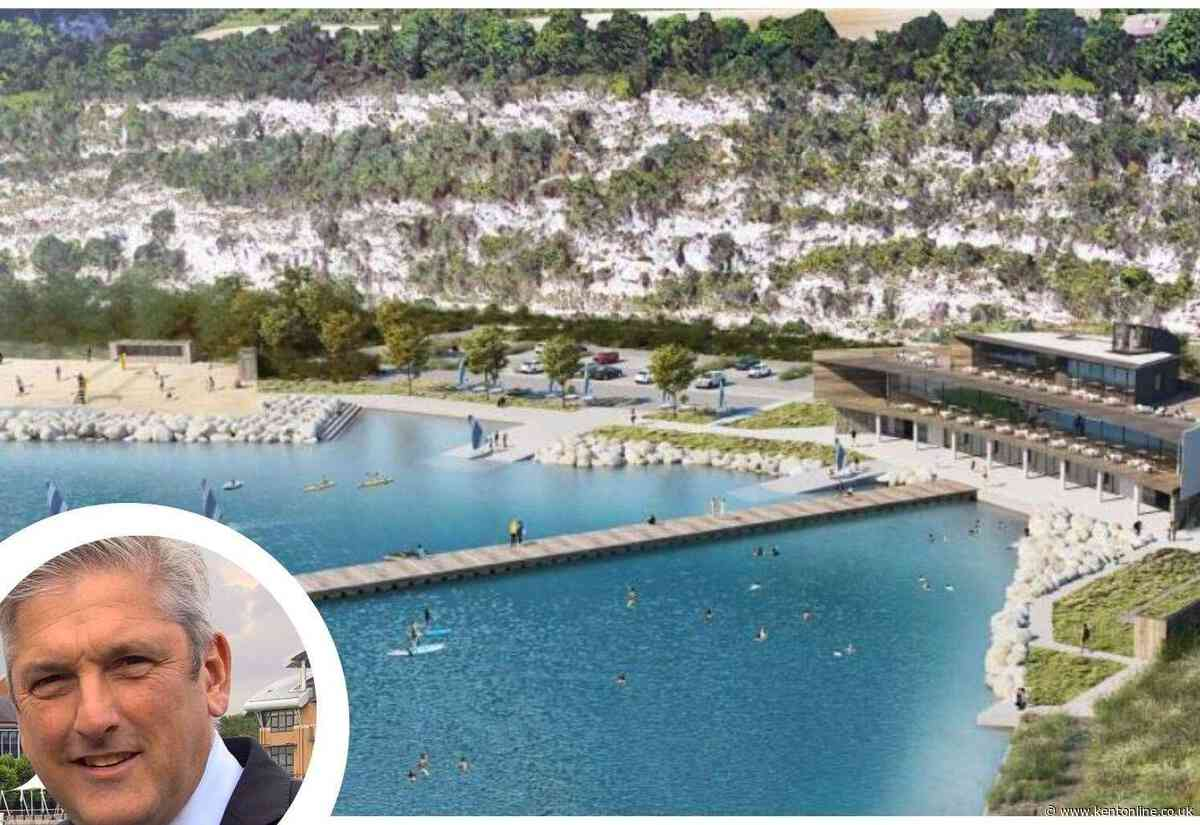 What's in store for the blue lake?