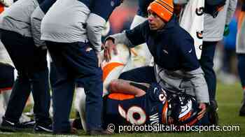 Derek Wolfe could be done for the season