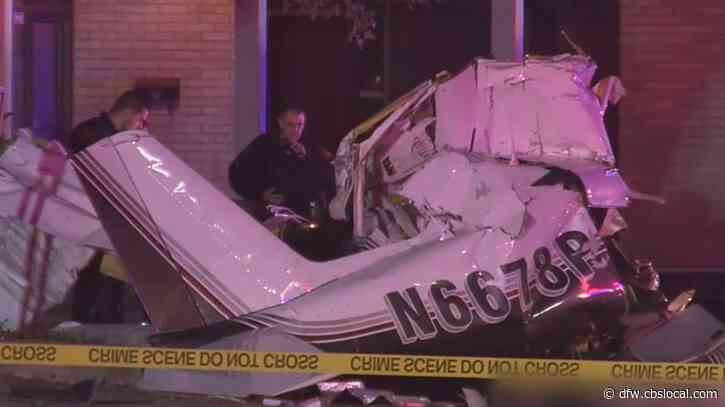 3 Dead After Small Plane Crashes Onto Street In San