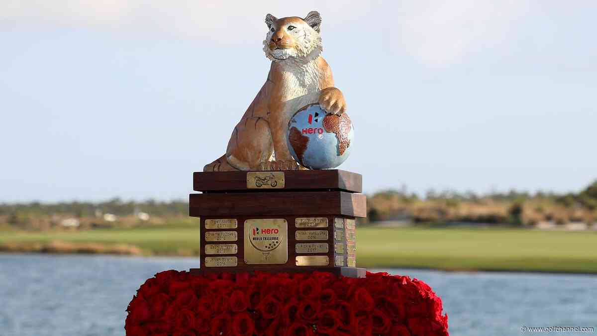 Five things to watch at Hero World Challenge