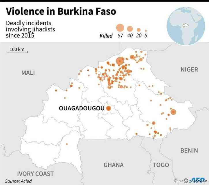 14 killed in Burkina Faso church attack: regional govt