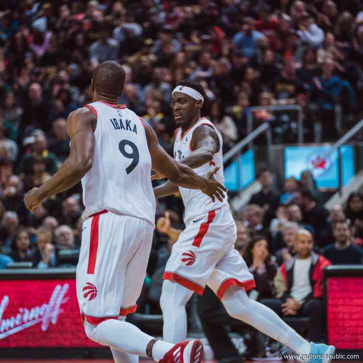 Raptors rampage to royal win, 130-110, over Jazz