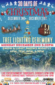 Church Street District Tree Lighting Ceremony