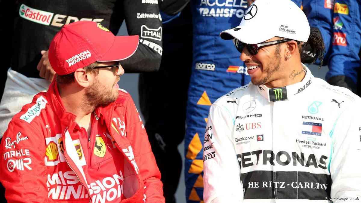 Hamilton responds to Ferrari rumours