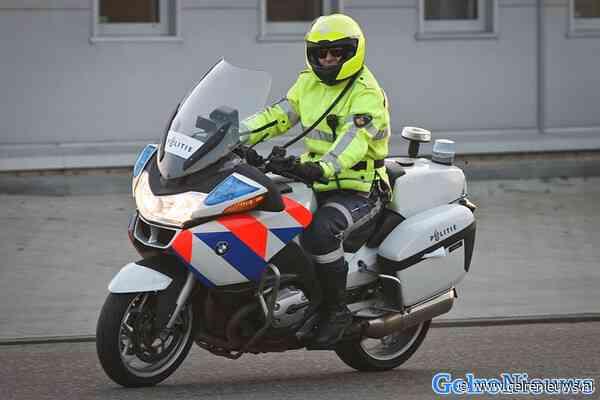 Gewonde bij aanrijding met politiemotor in Zevenaar