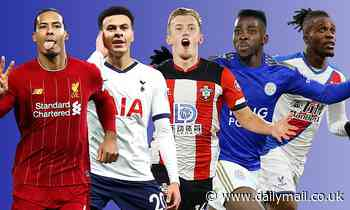 Premier League power rankings: Van Dijk and Alli break top 10 but can they knock Vardy off top spot?