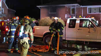 Fire Forces Family From Home In Plum