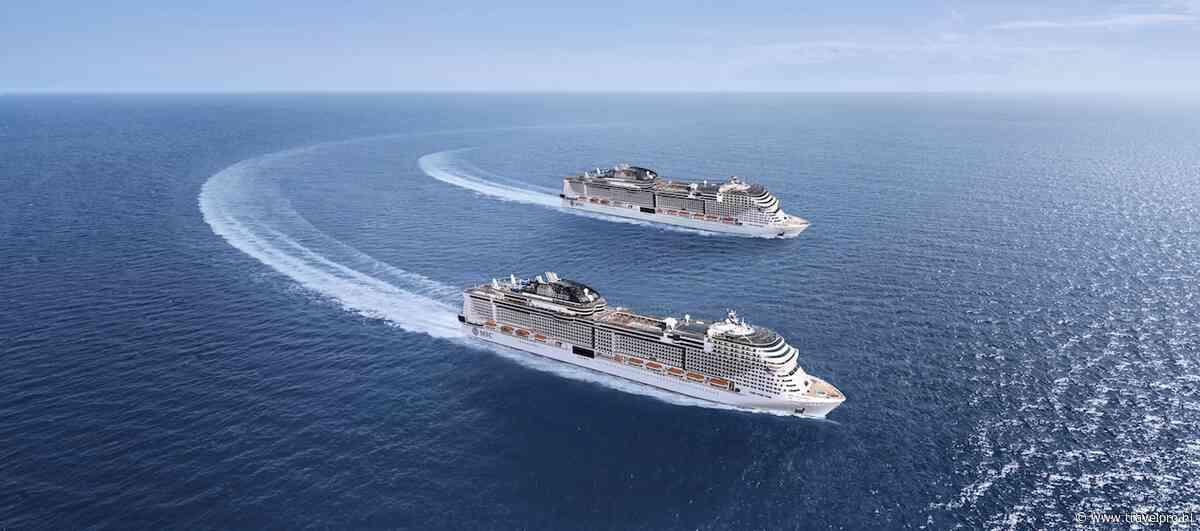 MSC Cruises viert tewaterlating van MSC Virtuosa