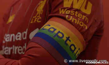 LFC proudly supports Rainbow Laces campaign