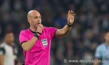 Fans rage as Anthony Taylor announced as referee for Manchester derby at the weekend