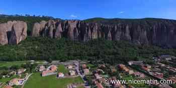 Un des célèbres rochers des Pénitents des Mées s'écrase sur des maisons, plusieurs blessés