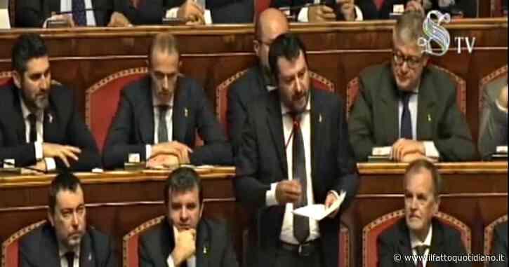 """Fondo salva-Stati, i richiami di Salvini al M5s: """"Amici dei 5 Stelle, condivido le vostre richieste. Non siate complici di questa menzogna"""""""