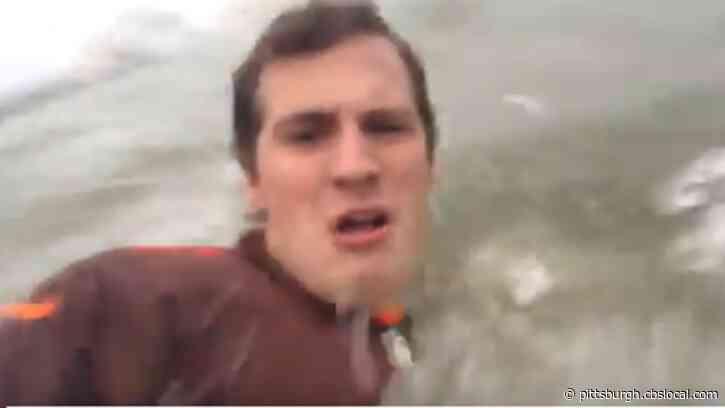 'You Did This To Me Browns!' Cleveland Browns Fan Goes On Rant, Jumps Into Lake Erie After Loss To Pittsburgh Steelers