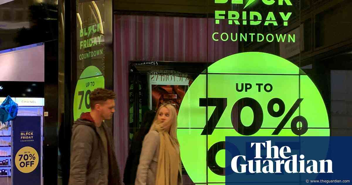 UK retailers enjoyed 'outstanding' Black Friday sales figures