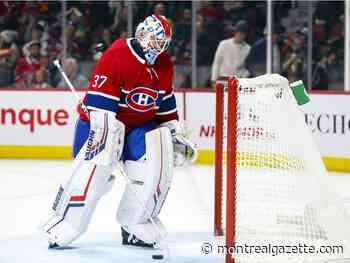 Canadiens place backup goalie Keith Kinkaid on NHL waivers