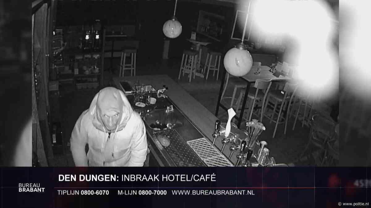 Den Dungen - Gezocht - Inbraak hotel restaurant Boer Goossens