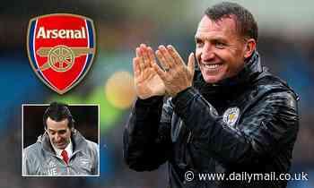 The awkward moment Brendan Rodgers dances around chance to 'nip Arsenal talk in the bud'