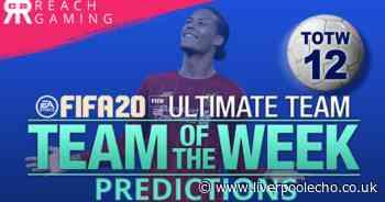 FIFA 20 TOTW 12 predictions including Liverpool's Ballon d'Or contender