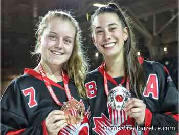 Quebecers lead Canada to second straight world junior ringette title