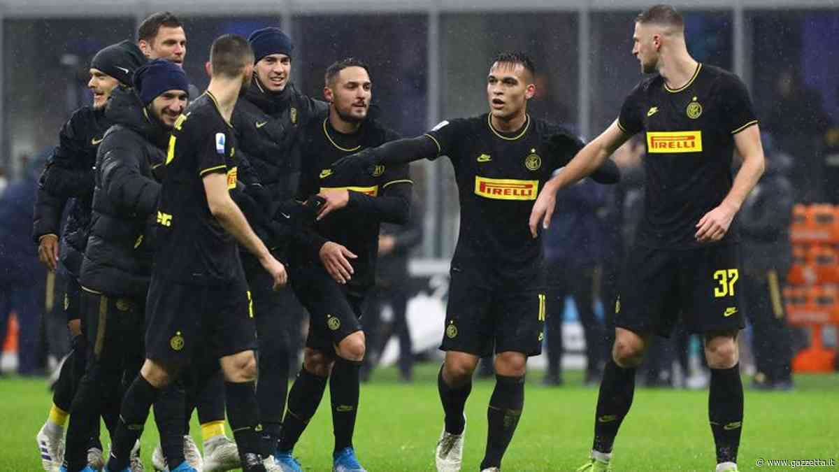 """Inter, l'entusiasmo della Milano nerazzurra. I tifosi: """"Salutate la capolista"""""""
