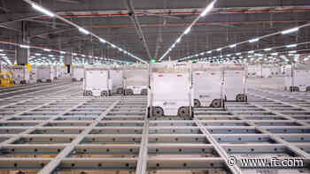Ocado launches £500m bond to fund robotic warehouses