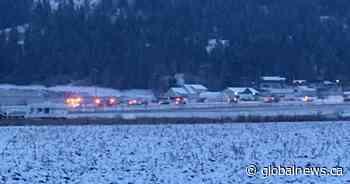 Vernon North Okanagan RCMP seek witnesses after fatal Highway 97A collision