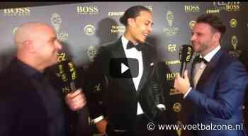 VIDEO - Hilarische reactie van Van Dijk op absentie Ronaldo bij gala