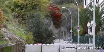 Cet éboulement qui embouteille les quartiers nord de Nice