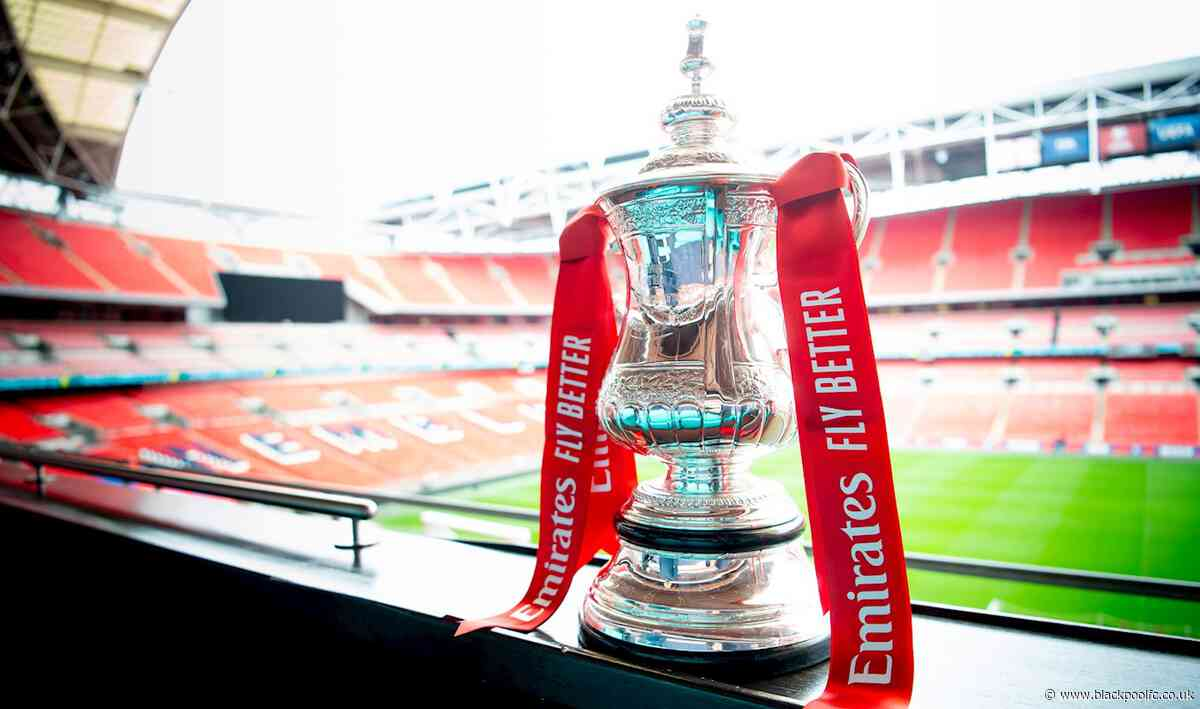 Seasiders To Travel To Reading in Emirates FA Cup