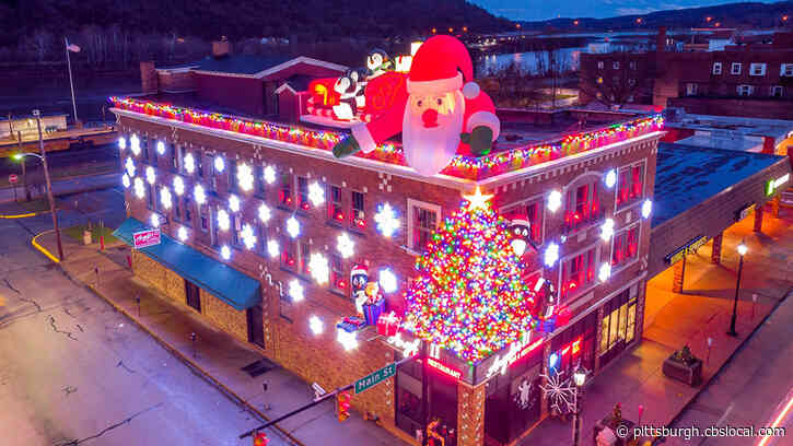 Mon City Restaurant Unveils Christmas Decorations To Top Its Viral Halloween Display