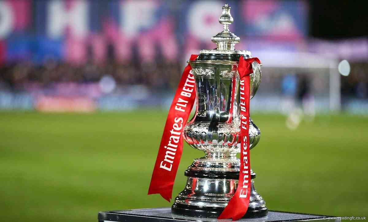 Royals draw Blackpool in FA Cup Third Round