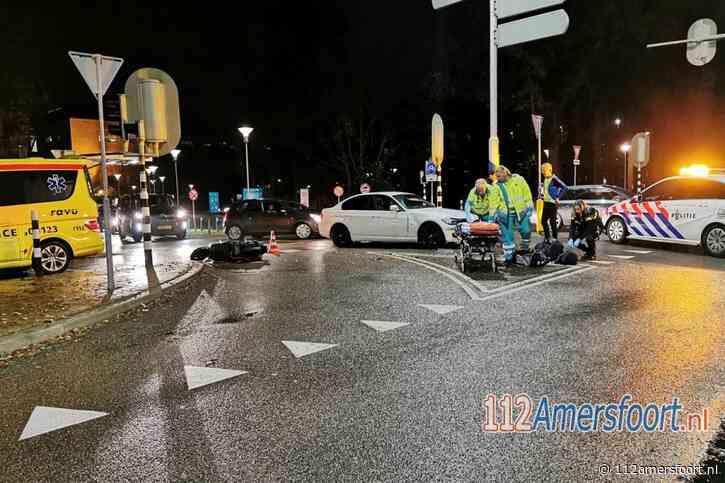 Scooterrijder aangereden voor de deur van het Meander ziekenhuis in Amersfoort