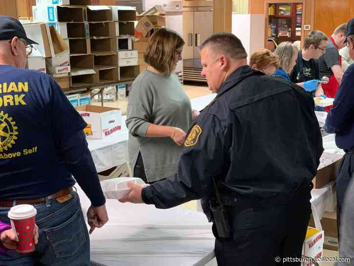 Pittsburgh Bureau Of Police Reflect On 'Get Stuff With Love' Thanksgiving Donations
