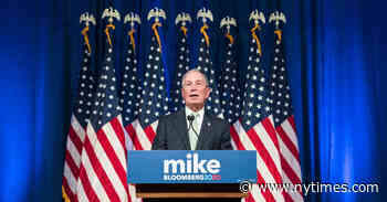 Trump Bars Bloomberg News Journalists From Campaign Events