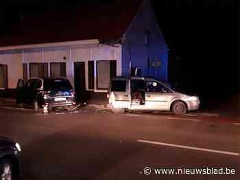 Een autobestuurder kritiek na ongeval in Aalter