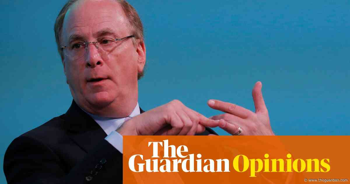 BlackRock's Larry Fink must think again over tackling climate crisis