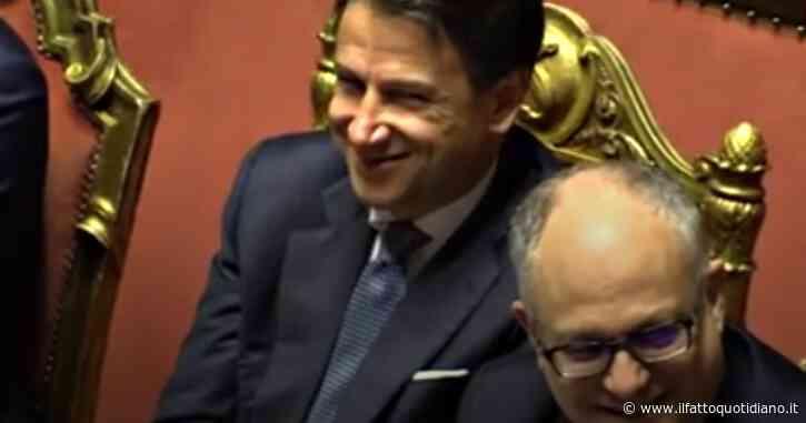 Fondo salva-Stati, tra risate e smorfie, le reazioni di Conte e Gualtieri al discorso di Salvini