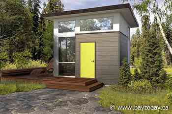 Province promoting building of 'tiny homes'
