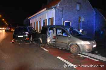 Passagier in levensgevaar na aanrijding op Tieltsesteenweg